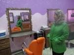 til flotte Ibtisan som arbeider i kvinnesenteret i Balata flyktningleir
